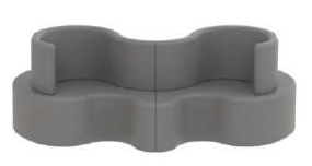 CLOVERLEAF SOFA - 2 units       颜色131